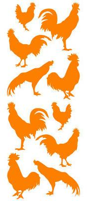 Rooster Wall Decals Wall Stickers