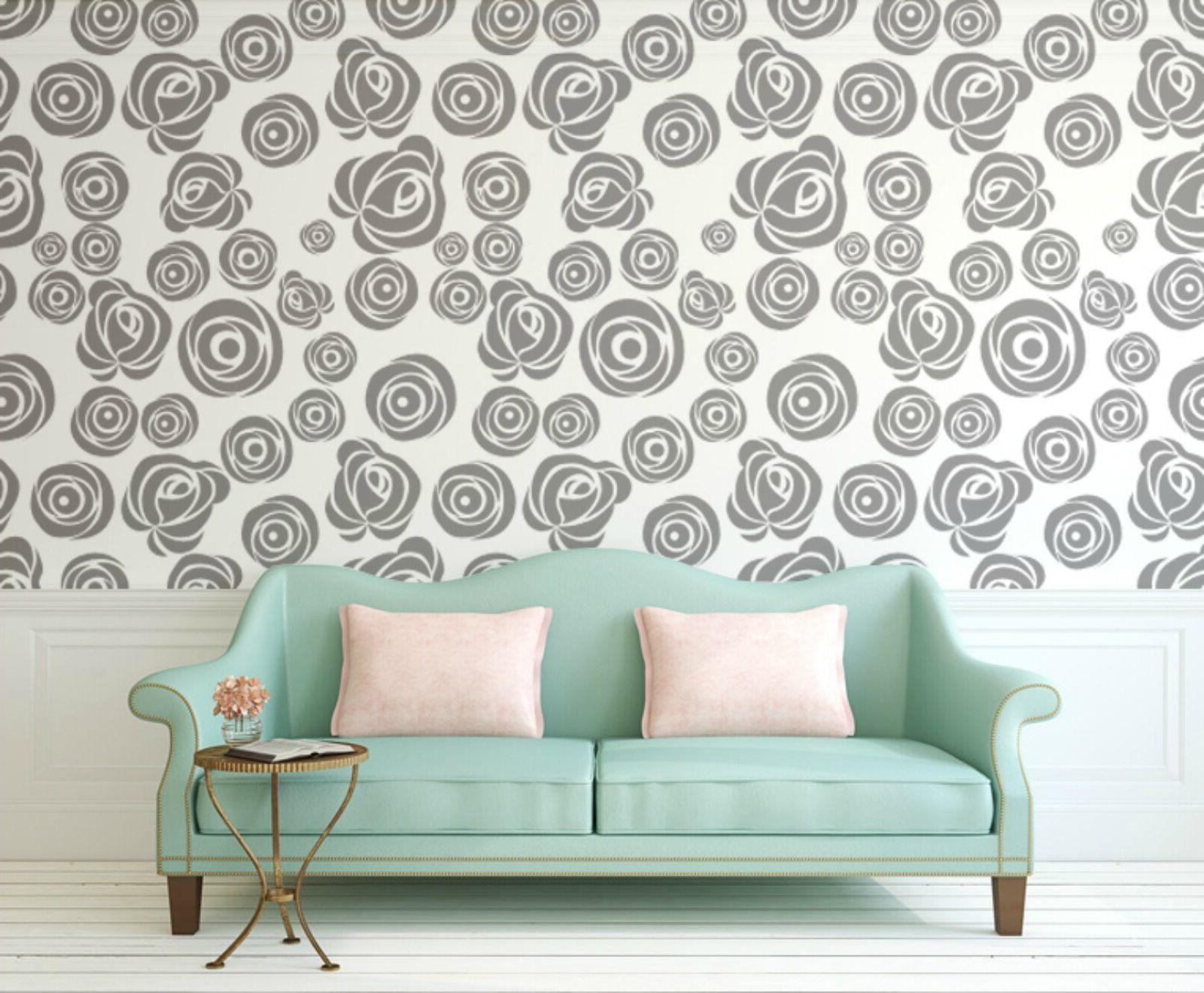 rose wall decal floral wall decals flower