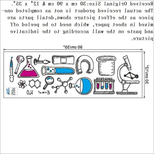 BIBITIME Science Wall Decals Chemical Tool