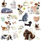 SECRET LIFE OF PETS GIRLS WALL DECALS 23 Dogs Puppies Cats S