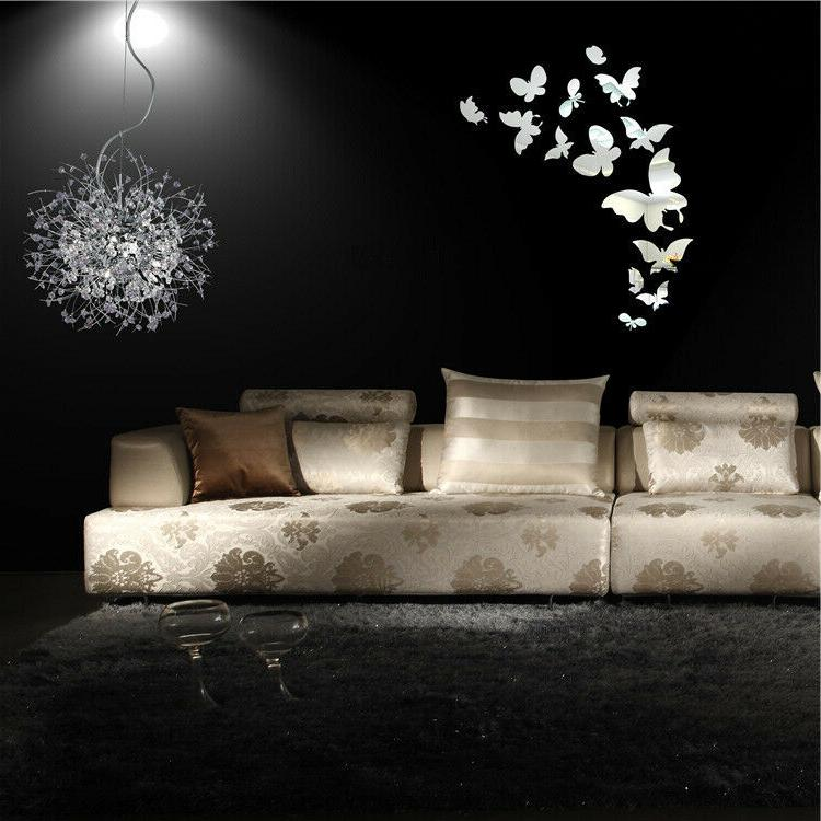 Shiny 3D Wall Removable Modern