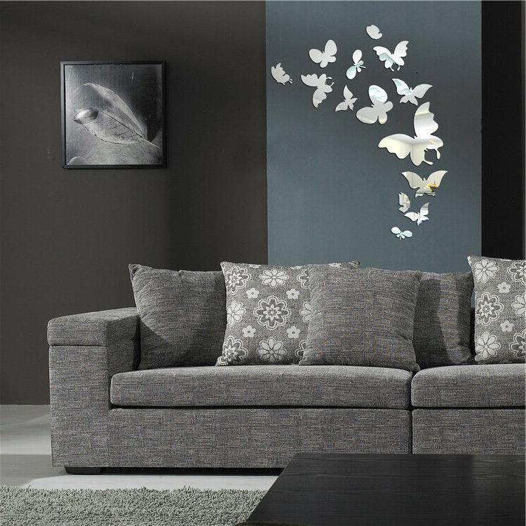 Shiny 3D Wall Sticker Wall Removable Home