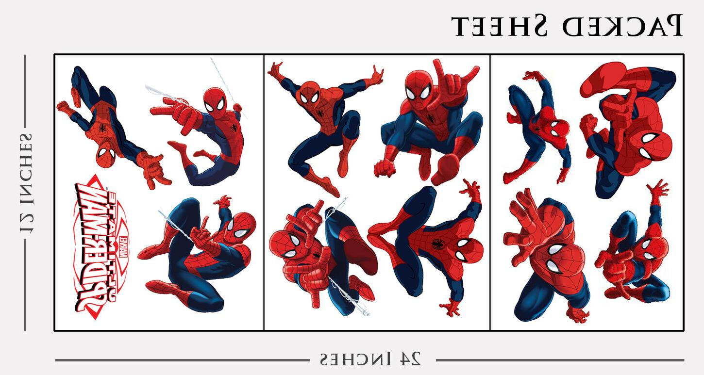 Spiderman Room Wall Spider-man Party Decals