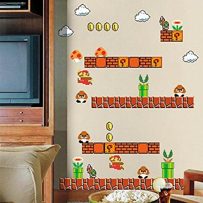 super mario stick wall decals stickers giant