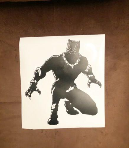 tchalla decal sticker black panther kids room