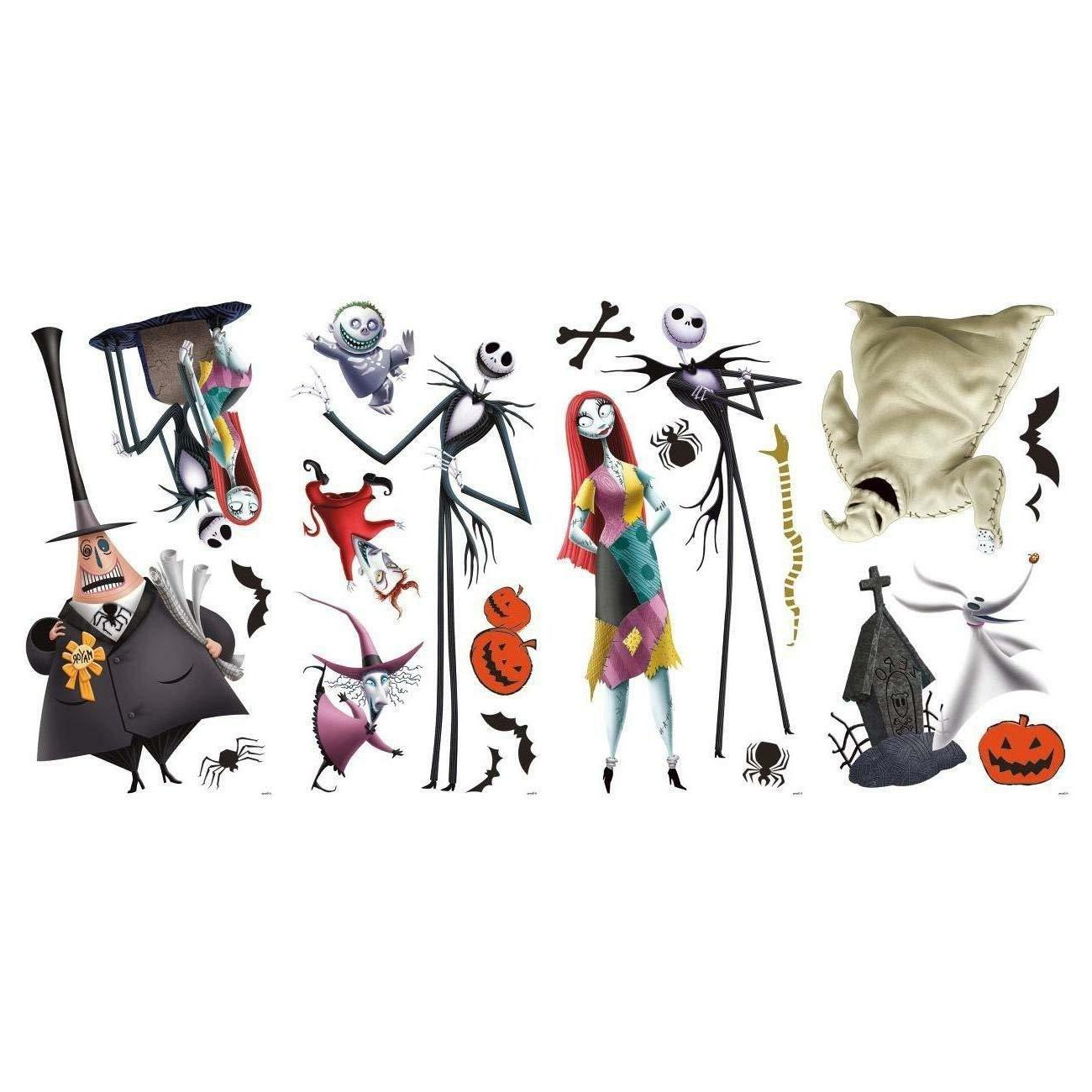 THE NIGHTMARE BEFORE WaLL DeCaLS Sally Room Decor Oogie