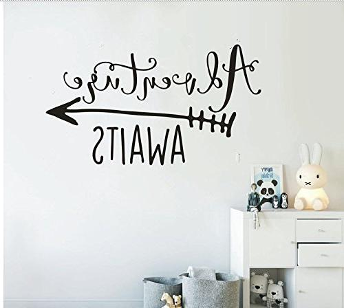 theme decal adventure awaits quote