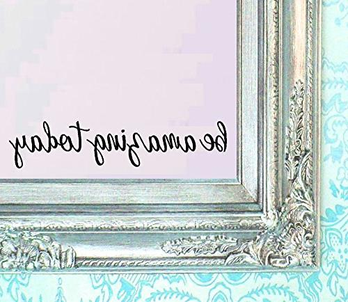 today decal quote mirror quotes