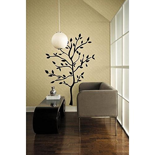 tree branches peel stick wall