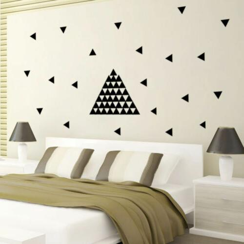 Triangle Removable Decals Home Decoration Decor