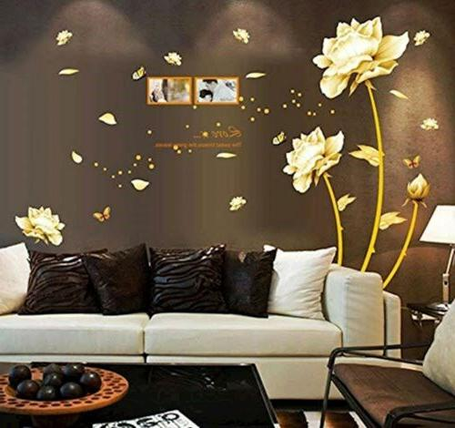 ufengke decor ufengke beautiful peony flowers butterflies