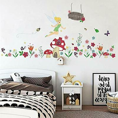 Ufengke Flower Wall Mushroom Art Decor For ""