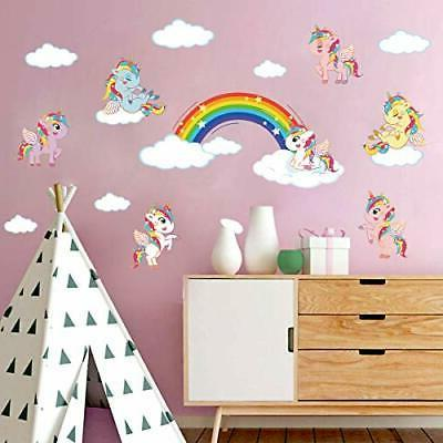 ufengke Rainbow Stickers DIY Decals