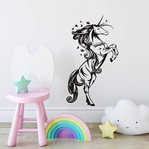 unicorn horse nursery girls bedroom