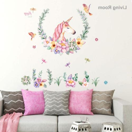 Amaonm Unicorn Decals, Removable DIY Home