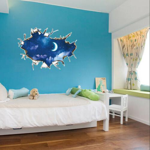 US Wall Removable Decals Kid Bedroom