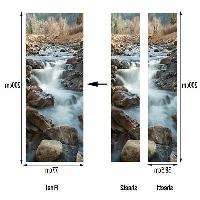 US Wall Stickers Watercourse River Decals