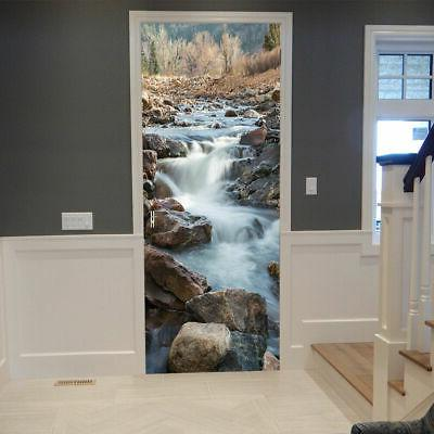 US Wallpaper Wall Stickers Watercourse Mural