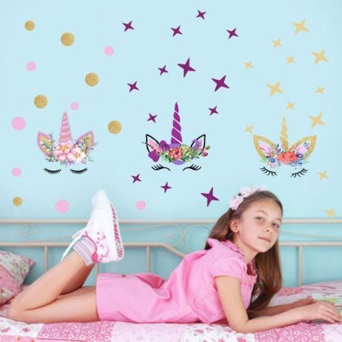 USA Fairy Wall Girls Kids Room Wall