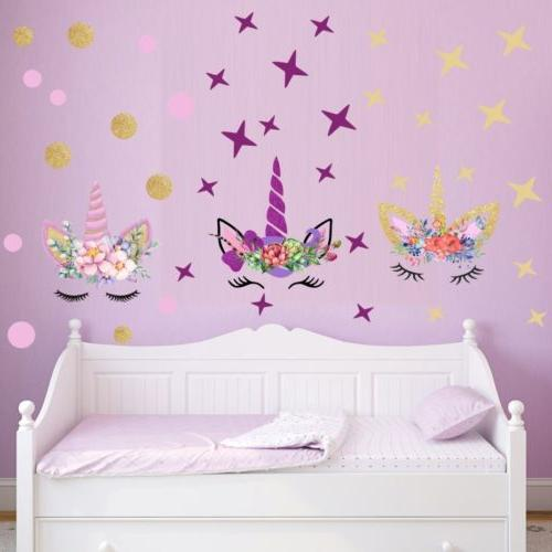 USA Fairy Wall Stickers Girls Kids Wall