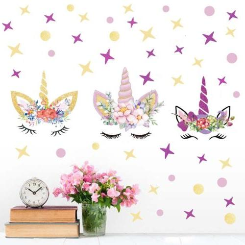 USA Wall Stickers Girls Kids Wall