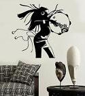 Vinyl Wall Decal African Woman Ethnic Style Shaman Stickers