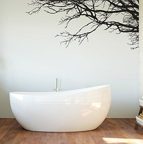 Large Tree Wall Sticker Semi-Gloss Tree Branches, Tall X 100in To Right. No Wall Way.