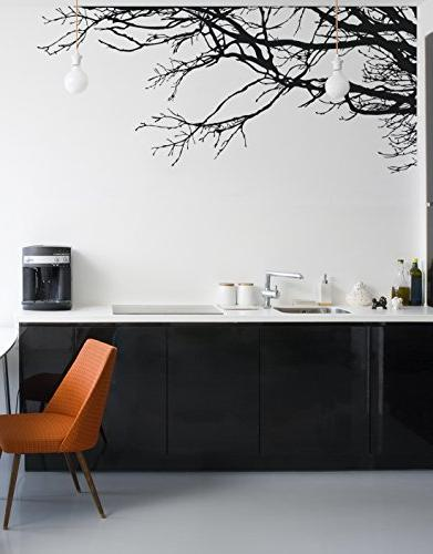 Large Wall Decal Sticker Semi-Gloss Tree Branches, To Removable, Paint Needed, Wall The Easy Way.