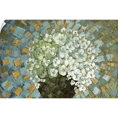 wall decal entitled abstract blosson bouquet