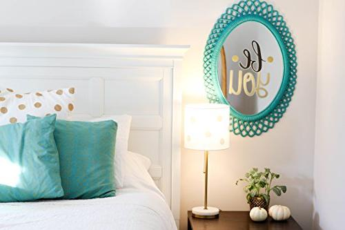 """Paper Co. Decals Art for Inspirational Easy to Stick + Painted Bold. Twelve 6""""x8"""" Sheets. DIY"""