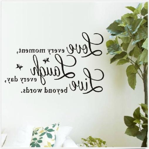 Wall Quote Decal every