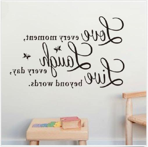 Wall Decal every day,Love beyond