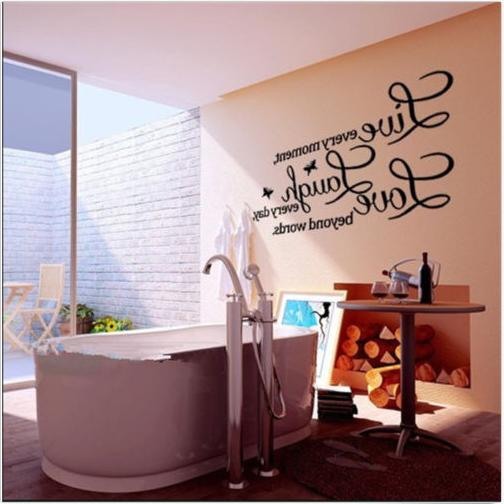 Wall Quote Decal moment,Laugh every