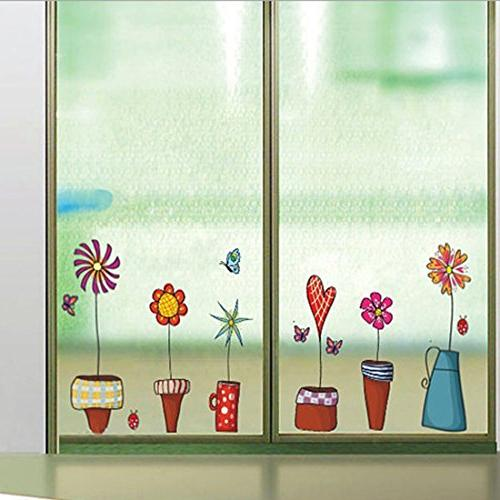 wall sticker flowers paper home