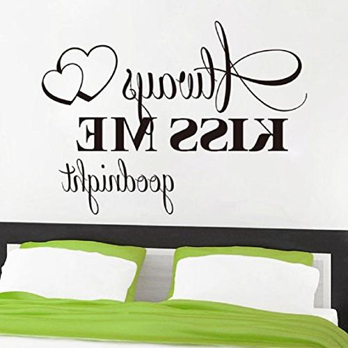 Wall Kiss Me Sticker Decal Home Bedroom Room Setting Sticker Home