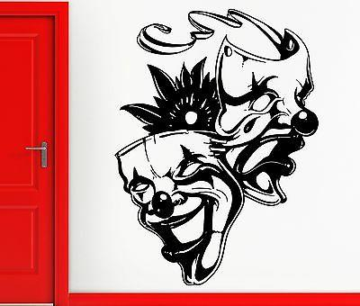 Wall Stickers Vinyl Decal Mask Tragedy And Comedy Movie Acto