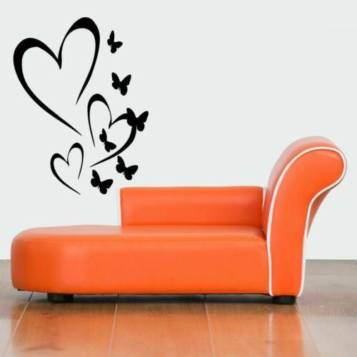 Wall Vinyl Sticker Decals Mural Design Art Cute Hearts Roman
