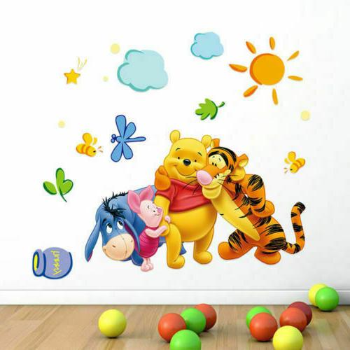 Winnie the Pooh Nursery Sticker Baby BedroomFREE SHIP