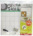 Wall Pops WPE0755 WPE0755 Floral Medley Organizer Kit Wall D