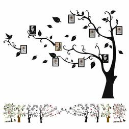 Large Family Tree Wall Decals 3D Diy Photo Frame Stickers Mu
