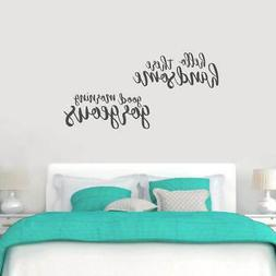 Large Handsome Gorgeous Wall Decals