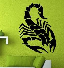 "Large Scorpion Removable Wall Vinyl Decal Sticker 30"" X 22.1"