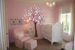 Large Wall Tree Baby Nursery Decal Flower Cherry Blossom Sti
