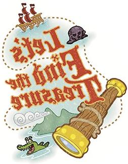 6 Inch Let's Find Treasure Decal Jake and The Neverland Pira