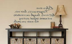 LIFE IS SHORT Wall Art Decal Quote Words Lettering Decor DIY