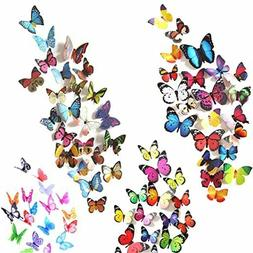 Lisa Audit Butterfly Quote Peel And Stick Wall Decals, Multi