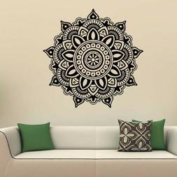 Mandala Flower Indian Bedroom Wall Decal Art Stickers Mural