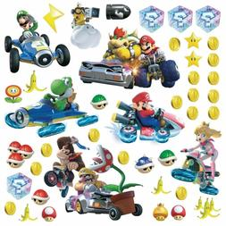 RoomMates Mario Kart 8 Peel and Stick Wall Decals