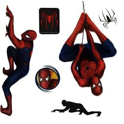 24pc Marvel Spiderman Wall Stickers Comic Book Superhero Mov