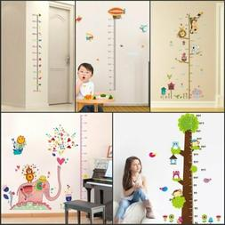 Measure Wall Stickers For Kids Room Height Chart Ruler Decal
